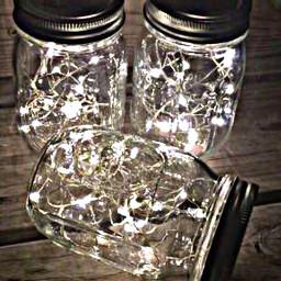 freetoedit lights masonjars lanterns remixit