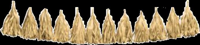 gold fringe tassels decor remixit freetoedit