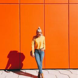 freetoedit coolgirl winteroutfit casualwear warmcolors