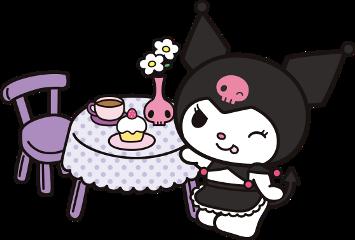 kuromi sanrio cooking chefkuromi baking