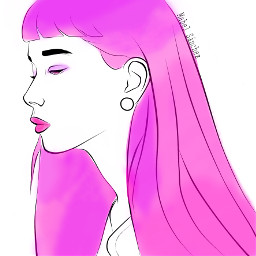 freetoedit girl pink perple cute