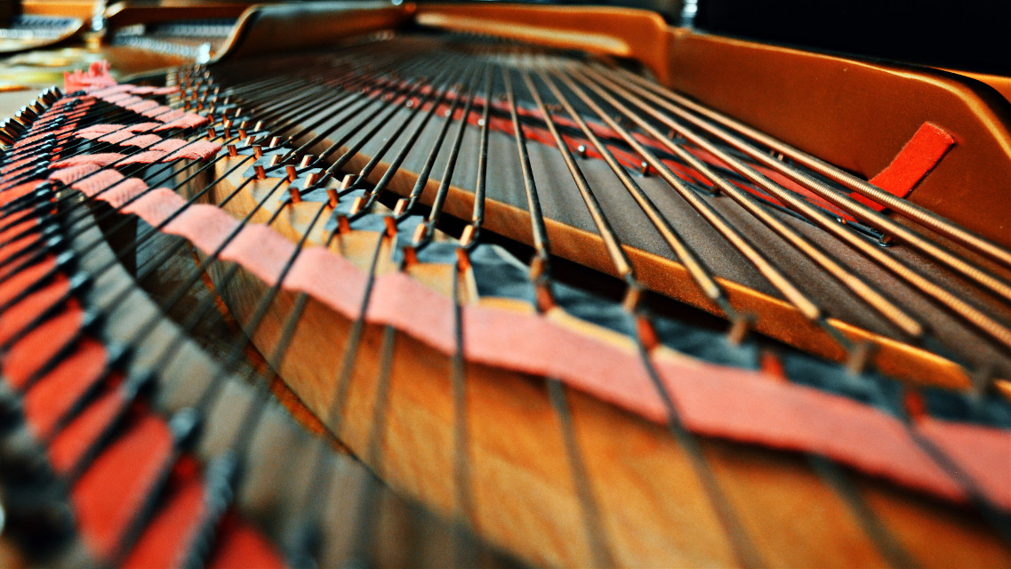 #freetoedit #piano #steinway #grand #grandpiana #strings #wire #closeup #macro #interesting #photography #college #music #wire #lines