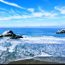 ocean naturephotography freetoedit sanfrancisco