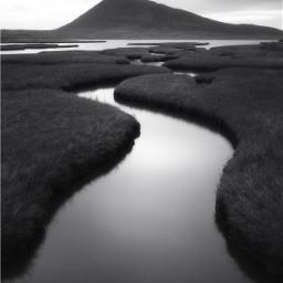 freetoedit blackandwhite water h20 tranquility scotland