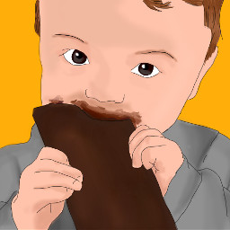 freetoedit chocolate cute baby drawing dcchocolate