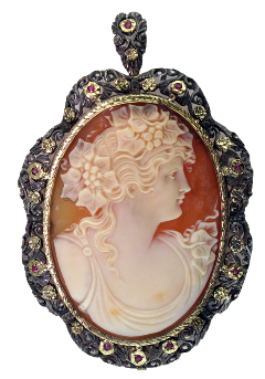 cameo necklace pendant jewelry pngs