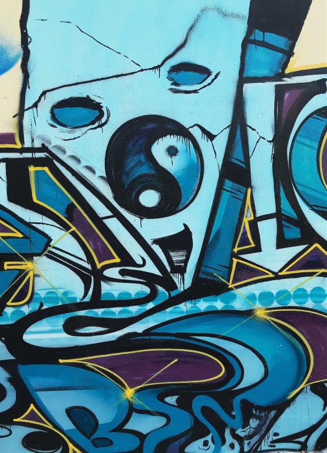 #freetoedit  #abandonedplaces #oldwall #urbanart #abstraction #simbol #yinyang #streetart #urbanabstractphotography