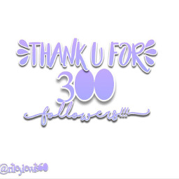 thanku 300followers contestsoon