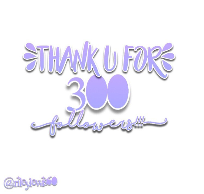 Thank u all so much for 300 followers!!! I literally just hit 200 a couple of weeks ago and now im on 300!!  I am so greatful and i appreciate all of ur guys's likes and comments!!! I am going to be having a 300 followers contest soon so be ready for that! Once again thank u, ly all!! 💜💜💜💜💜 - - - - - - - - #thanku #300followers #contestsoon —————————————————————— Shoutouts: @arianatorrr01  @anns4life @lovelymacklannie @lovely_bree5 @honeygrandes @honeycollage @rileylewis65 @zendaya_xx @cute_ariana @mcr-way