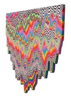 drip 3d perspective psychedelic freetoedit
