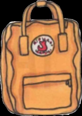 #backpack #tumblr #aesthetic #aestheticyellow #mustard #orange #kanken #fjallravenkanken #freetoedit