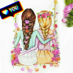 freetoedit bestfriends mejoresamigas srcloveyou loveyou