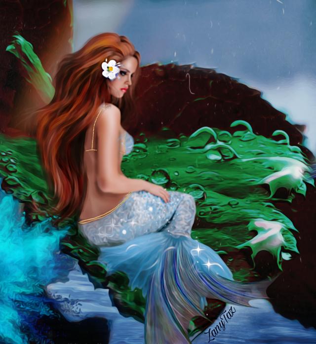 #vipshoutout  @lensfreak  🌷 #mermaid #siren #freetoedit