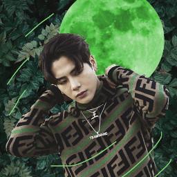 freetoedit jacksonwang khiphop hiphop kpop