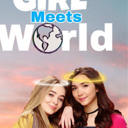 freetoedit girlmeetsworld