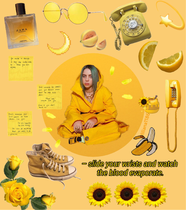-Some painters transform the sun into a yellow spot, others transform a yellow spot into the sun- -Pablo Picasso-  🐥🌞💫  #yellow #yellowaesthetic #myedit #like #billieeilish