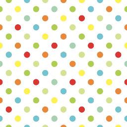 polkadots rainbow confetti background wallpaper