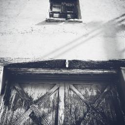blackandwhite door doors window