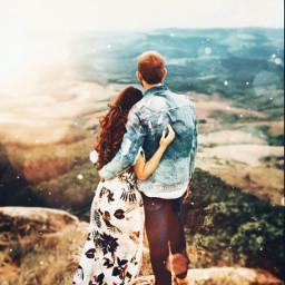 freetoedit picsart portrait couple date