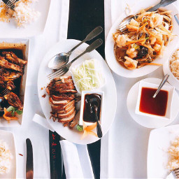 pcdinnertime diningout orientalflavours chinesefood diningtable