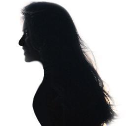 freetoedit shilouette woman remixit