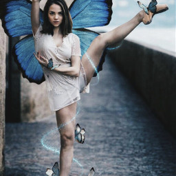 ballet balletday butterfly dance freetoedit