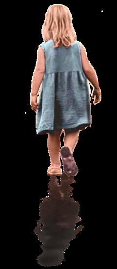 girl kid kids walk dance