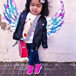 freetoedit angel adorable kids kidsfashion