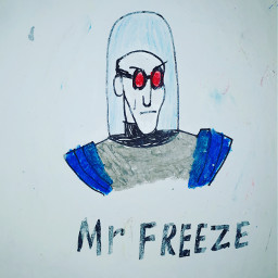 freetoedit mrfreeze freeze batman painting