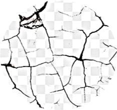 checkerd background crack blackandwhite freetoedit