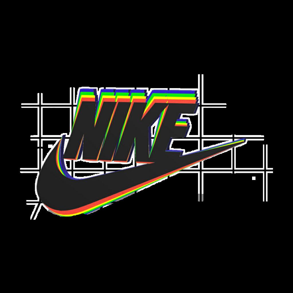 Nike tumblr. Rainbow colourful trend freetoedit