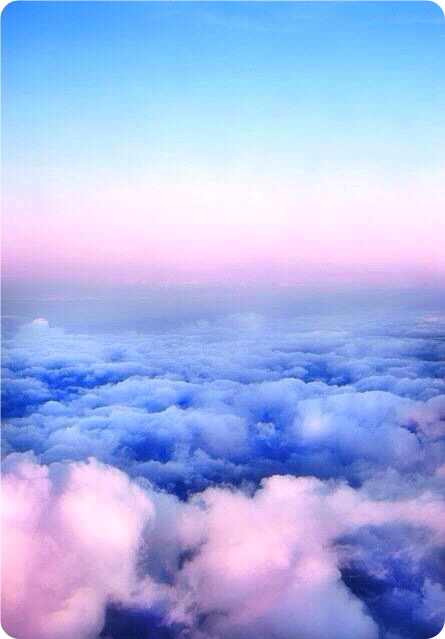 Clouds Wallpaper Background Backdrop Pink Blue Yellow