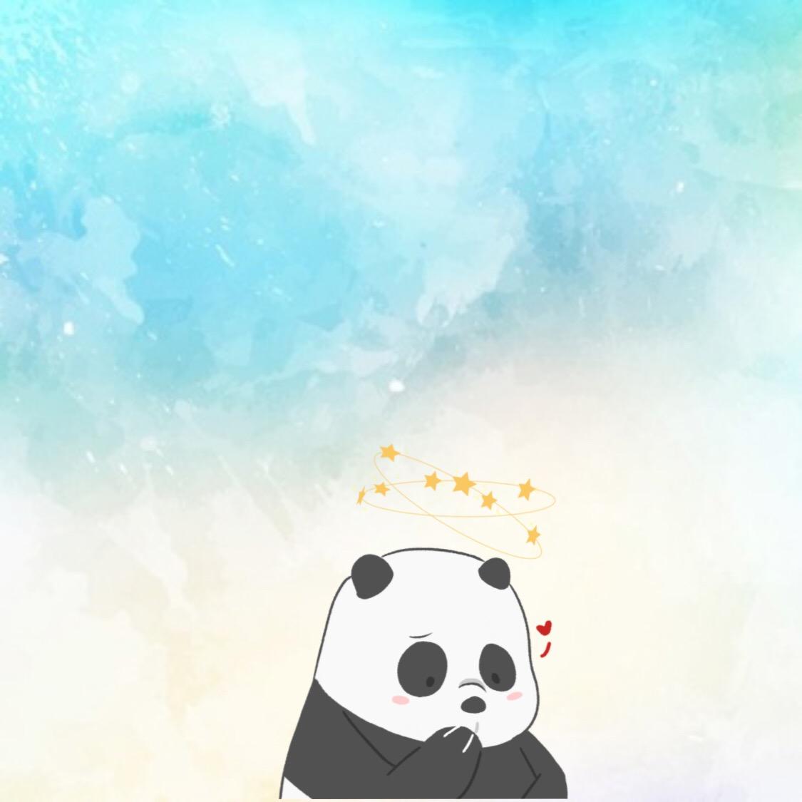 Wallpaper Panda From We Bare Bears