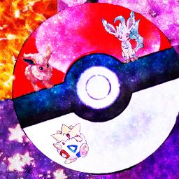 freetoedit pokemon tokepi flareon leafeon