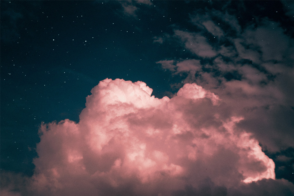 See things differently than everyone else	 Unsplash (Public Domain) #pink #cloud #nature #background #backgrounds #freetoedit