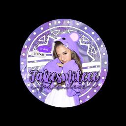 fakesmileeepfp icon arianagrande purple fakesmile freetoedit