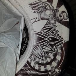 tattooart tattoodesign tattoolove bicpen inkedlife