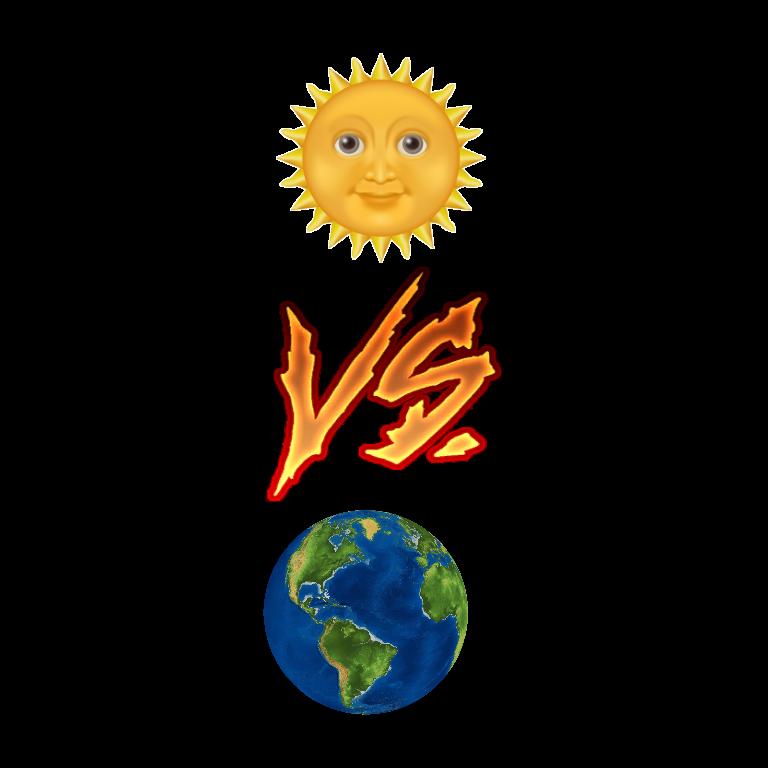 #sol vs terra