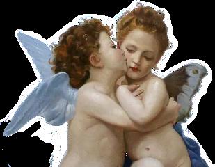 angels angel aesthetic art painting freetoedit