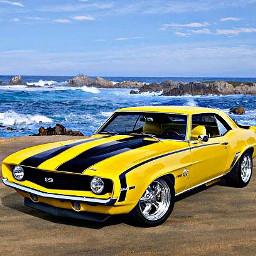 freetoedit yellow ss sportscar car