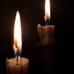 candle flame light fire candlelight