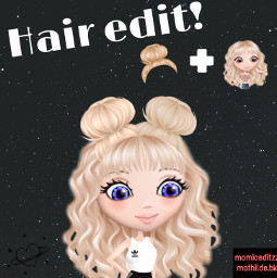 hairedit momio momiohairedit hair_edit momionorway freetoedit