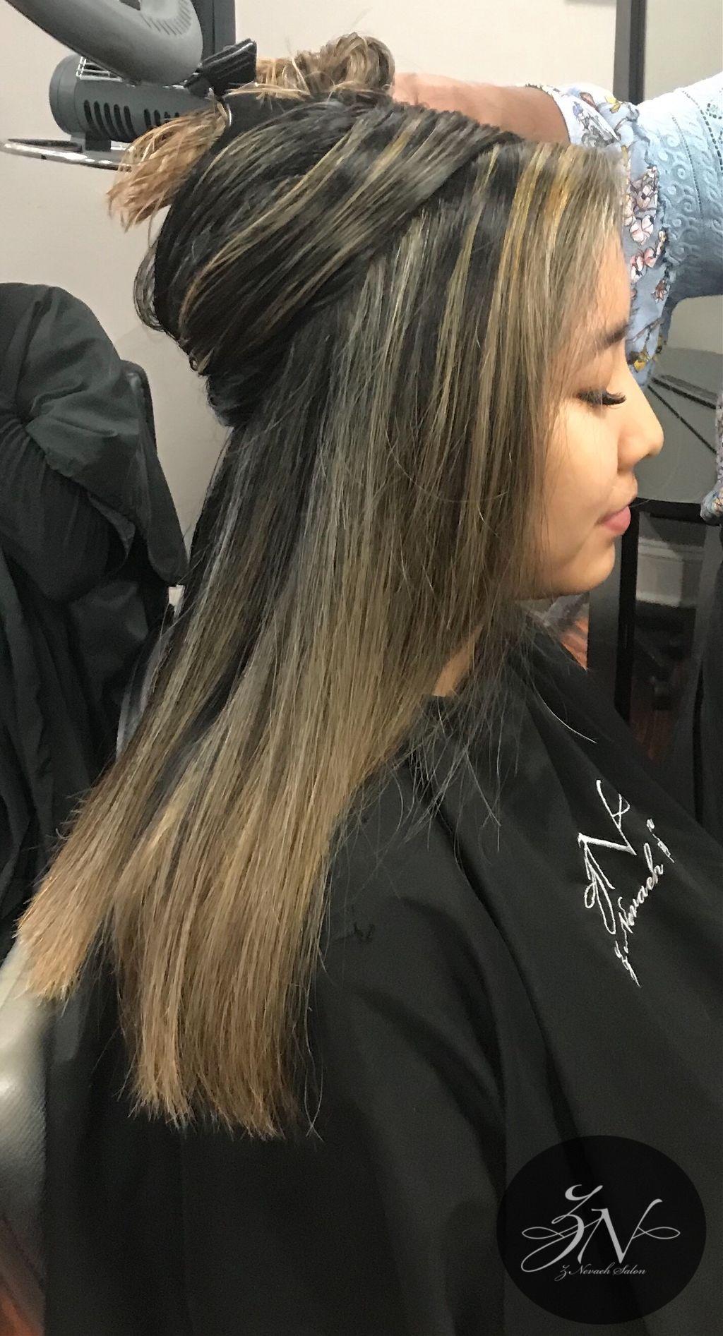 Love Is In The Hair @znevaehsalon @lezlieprice #knoxville #bestsalonknoxville #znevaehsalon