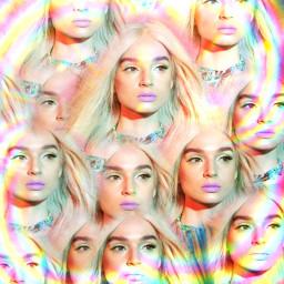 poppy rainbow aesthetic poppyedit kaleidoscope freetoedit