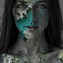freetoedit portait photography woman surreal