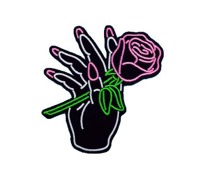 #rose #hand #girl #aesthetic #black