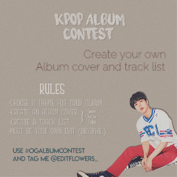 ogalbumcontest freetoedit kpop kpopidol kpopedit