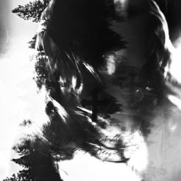 darkart gothic doubleexposure posterart longhairdontcare