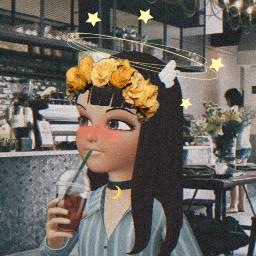 dynamolli zepeto yellow cafe freetoedit