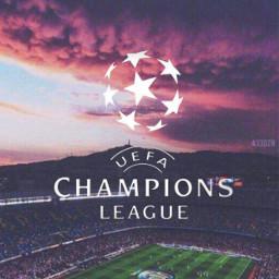 uefachampionsleague soccer ilovesoccer stadium clouds